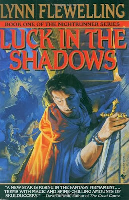 Luck in the Shadows (Nightrunner Series: Book 1) By Lynn Flewelling