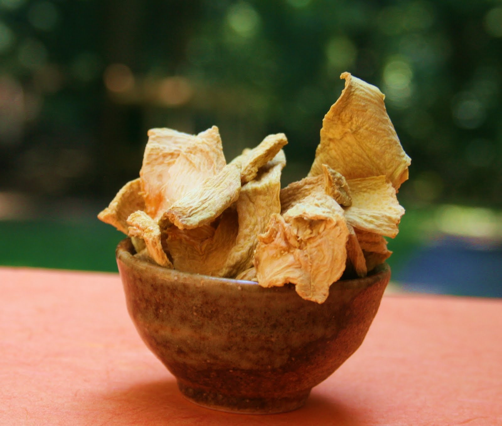 The Country Tart: Dried Pumpkin Chips