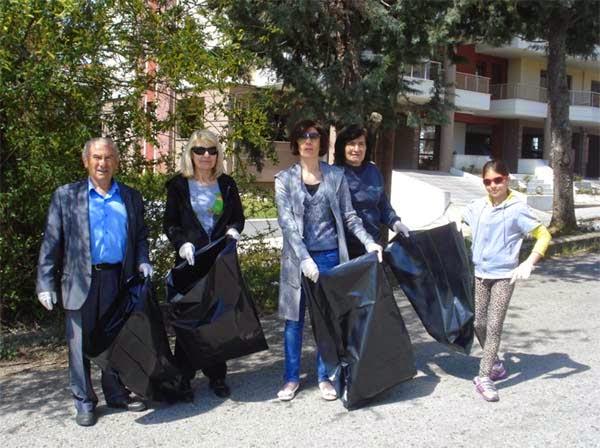 Και ο Πολιτιστικός Σύλλογος Εργατικών Κατοικιών συμμετείχε στη δράση 'LET'S DO IT GREECE' (φωτο)