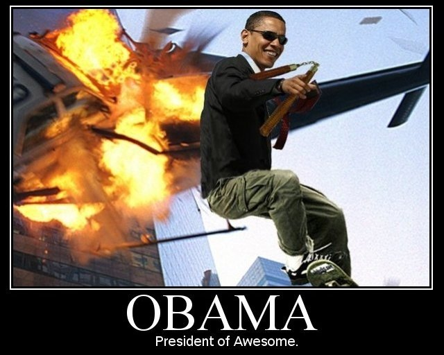 5 Funny Obama Pictures