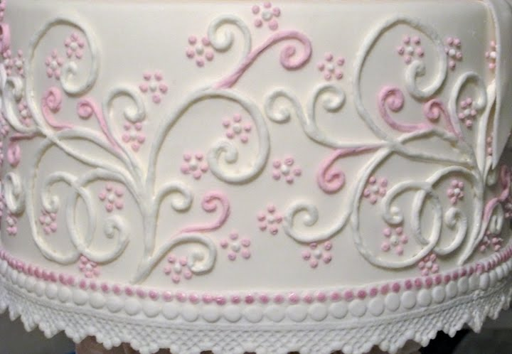 Cake Piping Design Patterns : Stacey s Sweet Shop - Truly Custom Cakery, LLC: March 2011