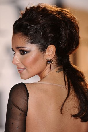 Cheryl Cole Red Hair Extensions. wallpaper cheryl cole hair