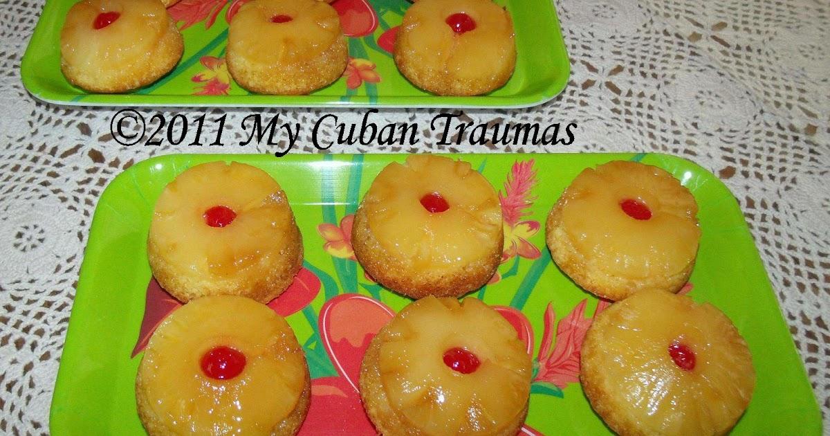Mini Pineapple Upside Down Cake Uk