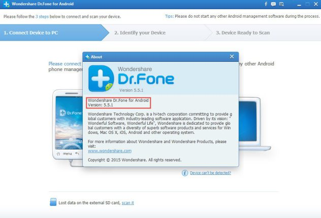 wondershare dr.fone for android 5.7.0.9 serial key
