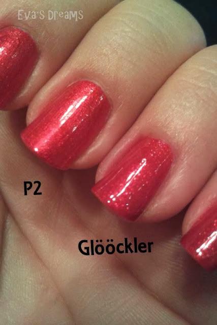 Nagellack Vergleich: P2 + Glööckler