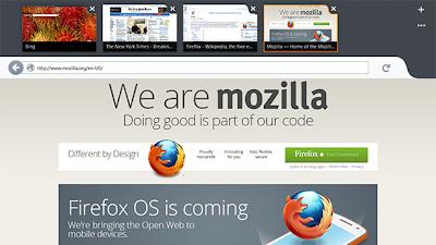 windows 8 mozilla firefox