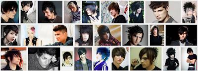 model gaya rambut emo pendek dan panjang pria dan wanita 19