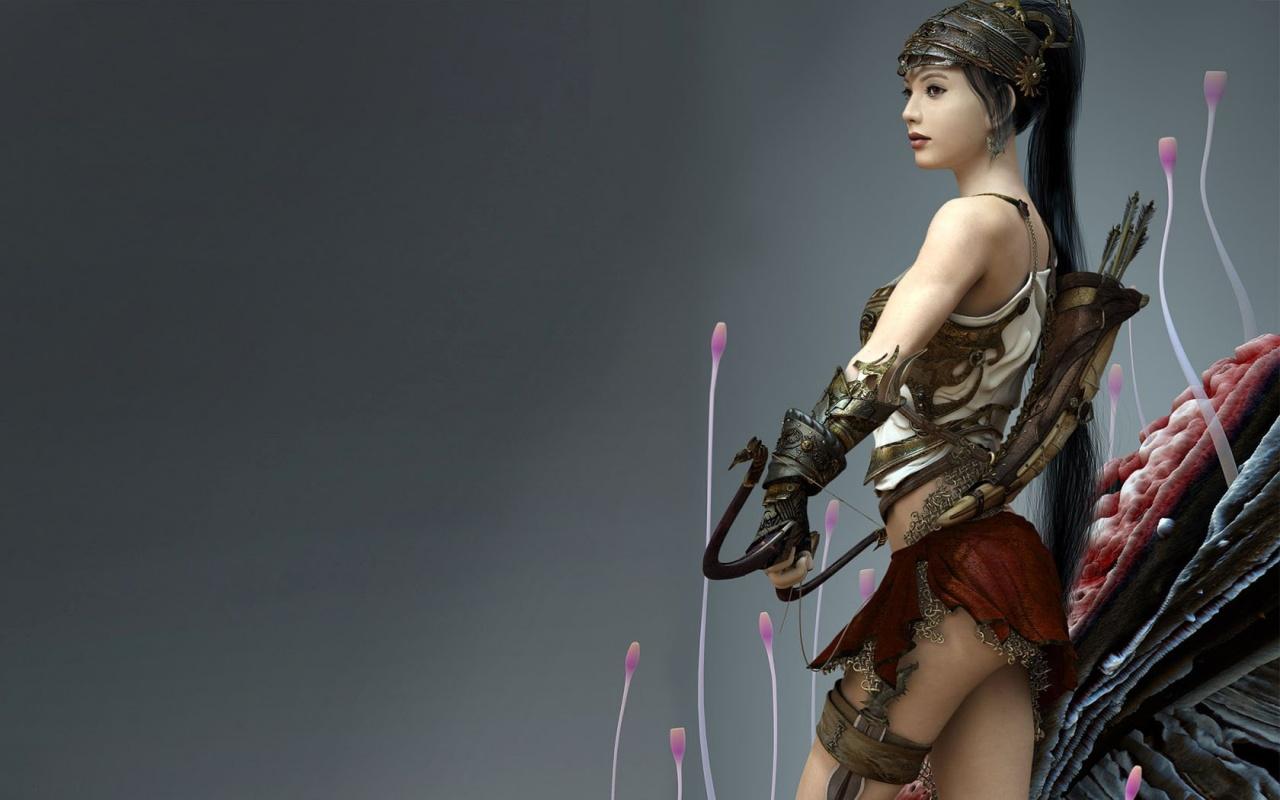 Sexy Game Widescreen Wallpaper