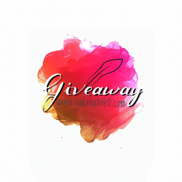 Jom join Giveaway Jiakreatifelt!