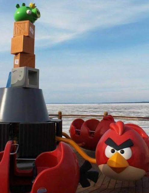 , Taman Tema Angry Birds Paling Mantap Dunia Di Finland (15 Gambar