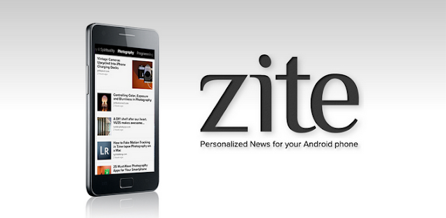 Popular news app Zite Launched For Android