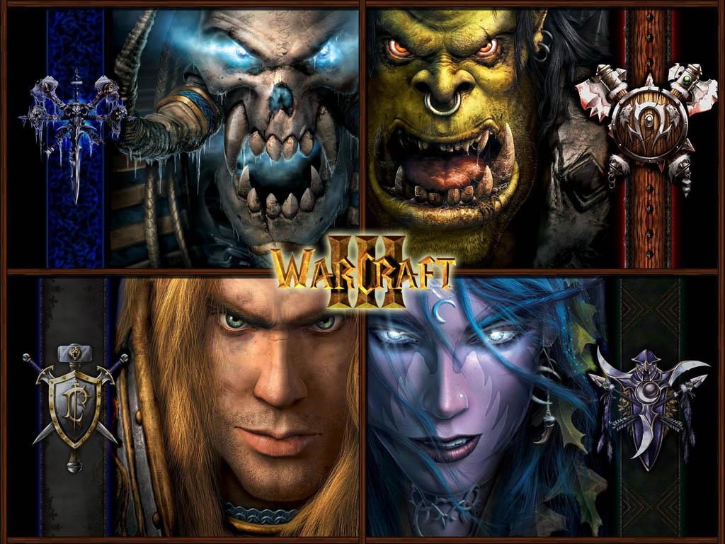 WARCRAFT 3 Y FROZEN THRONE Warcraft3+-+4+races