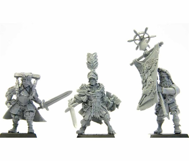 Empire / Mercenary / Pirate Command - Warhammer Forge photo