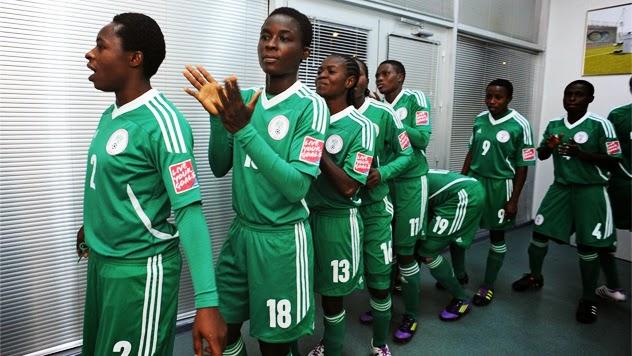 La Selección femenil Sub-17 de Nigeria, aunque también podría ser la Selección varonil | Ximinia