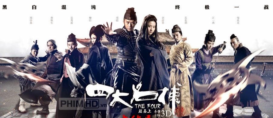 Tứ Đại Danh Bổ 3 - The Four 3 - 2014