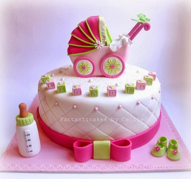 Torta Cake Design Torino : Modelos de bolos decorados para cha de bebe - Dicas pra Mamae