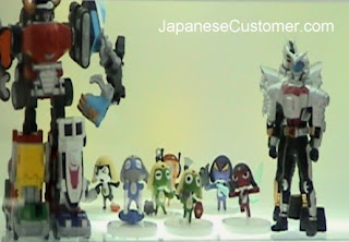 Japanese anime figurines copyright peter hanami 2011