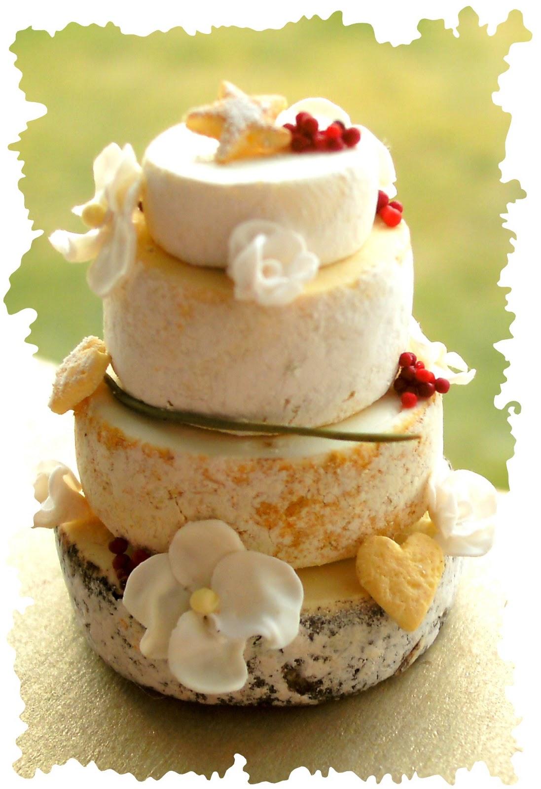 Homewardflight 4 Tier Cheese Wedding Cake