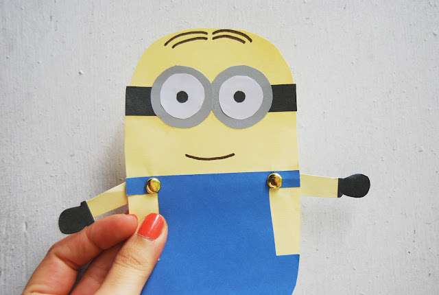 the pink doormat minion paper doll. Black Bedroom Furniture Sets. Home Design Ideas