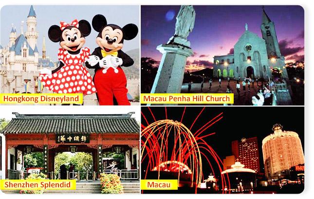 Paket Tour Hongkong Disneyland