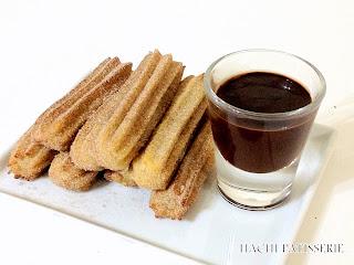 Hachi Patisserie Cinnamon Churros