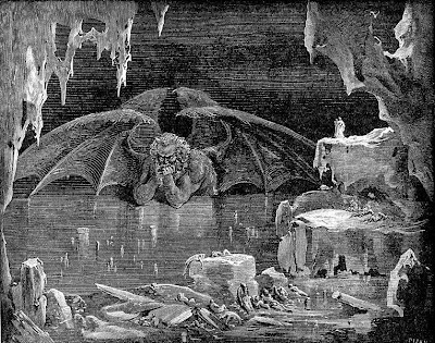 the depiction of hell in dantes inferno The 9 circles of hell as described by dante alighieri in inferno, the first part of divine comedy.