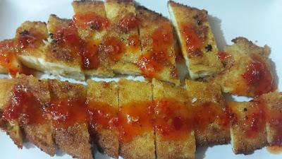Resep Ikan Kakap Goreng Tepung ala Chicken Katsu