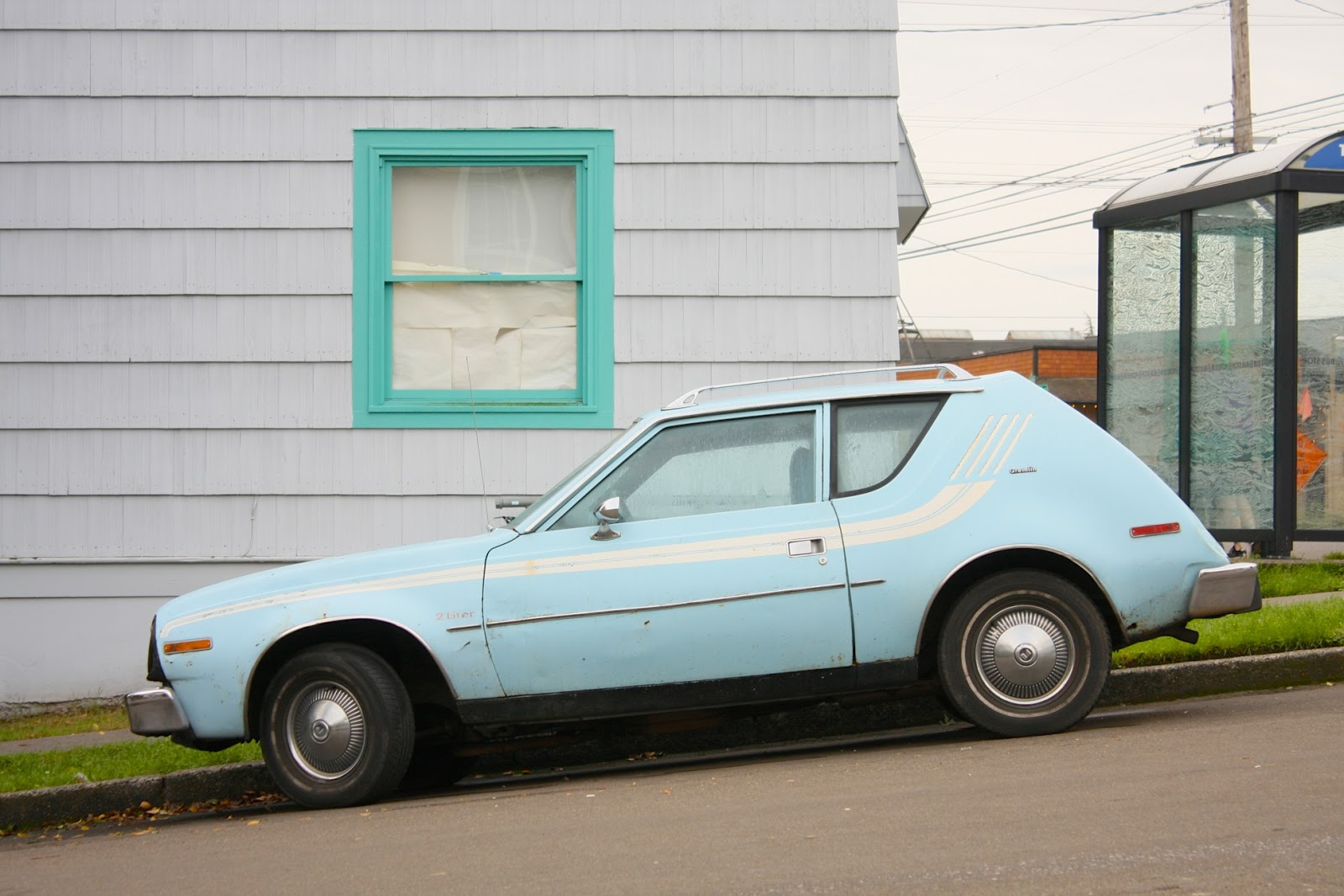 1977 AMC Gremlin Hatchback.