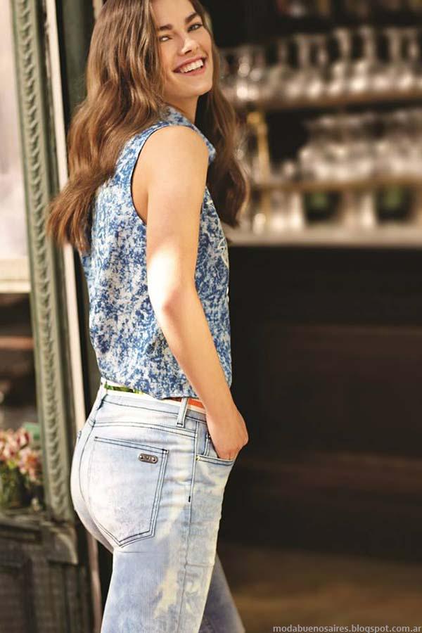Jeans de moda verano 2015 Uma.