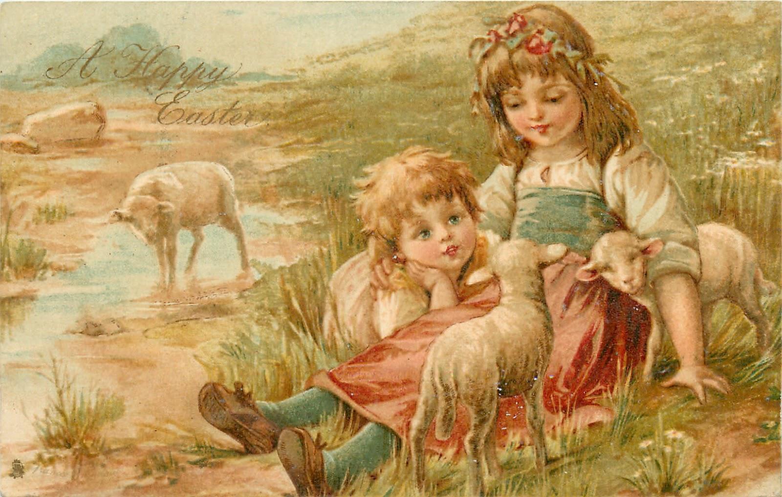 Фото ребенка с овечкой