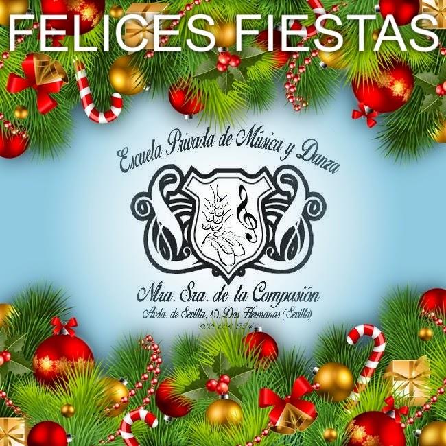 Felicitacion de navidad con musica