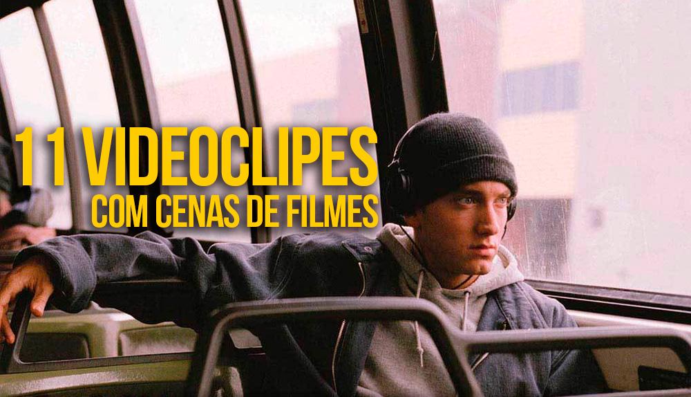 Eminem em cena do filme 8 Miles. 11 videoclipes com cenas de filmes