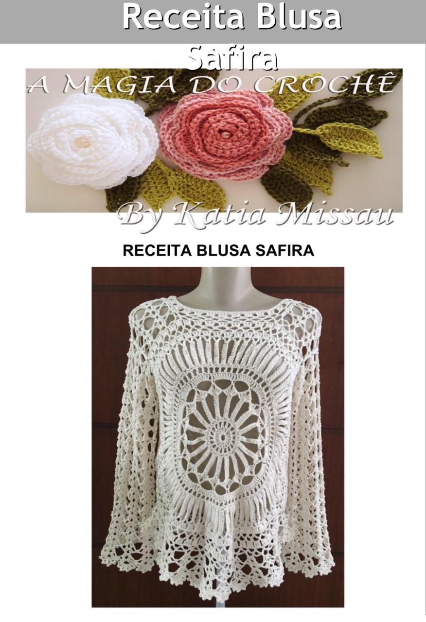 Receita Blusa Safira