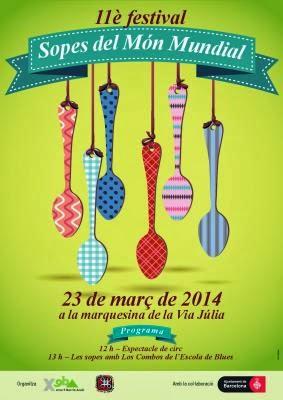 Cartel festival de sopas 2014