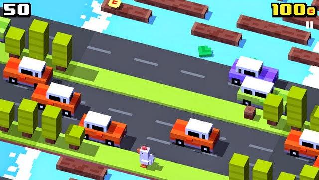 تحميل لعبة Crossy Road أيفون - أيباد - أندرويد