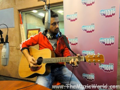 ATIF ASLAM At City 101.6 Studio (Pictures)