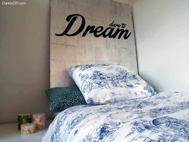 Dare to diy redecora tu habitaci n con un cabecero diy - Sylvia dare to diy ...