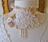 Vintage Bride Choker