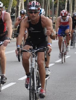 First olympic triathlon - Barcelona