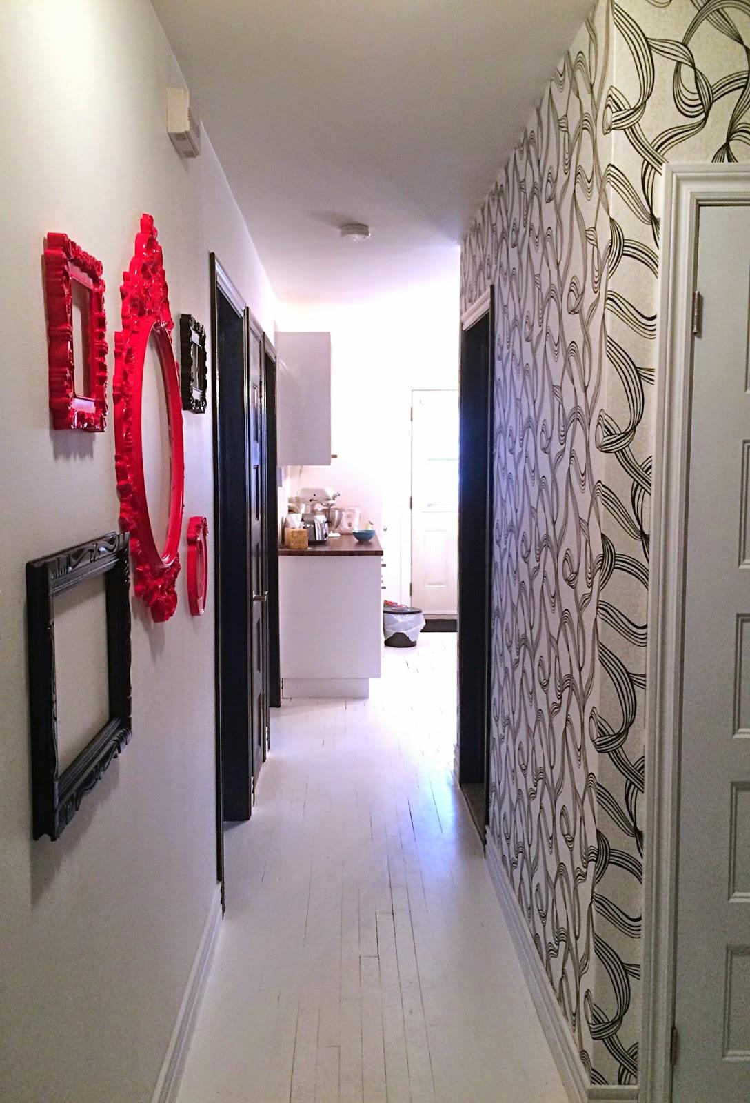 papier peint pour couloir etroit