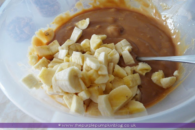 Banoffee Pudding Pots for a Baby Shower at The Purple Pumpkin Blog