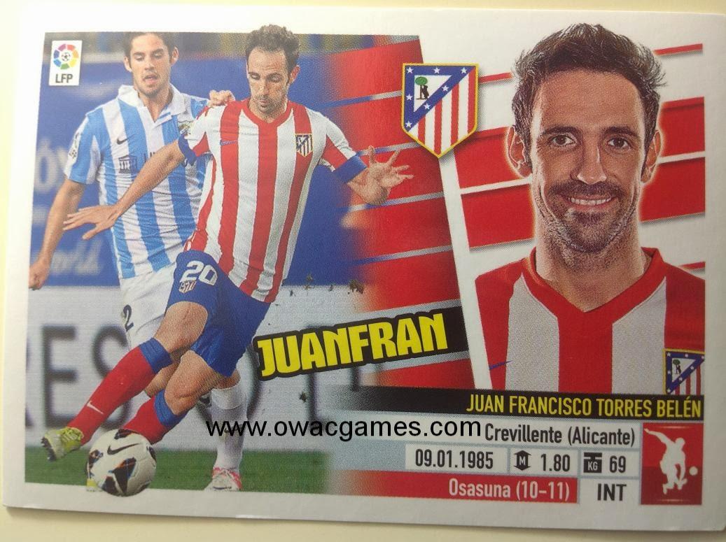 Liga ESTE 2013-14 Atl. de Madrid - 3 - Juanfran