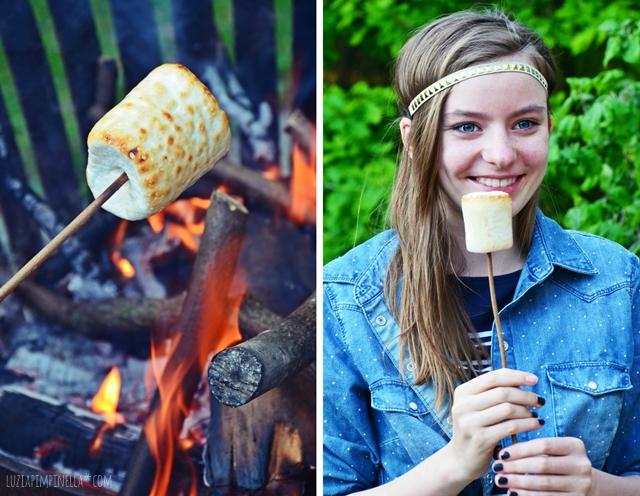 BBQ & grill love | marshmallows grillen | luzia pimpinella