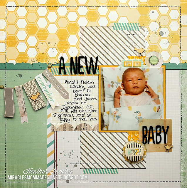 Baby Boy_Washi Tape_Banner_Stitching