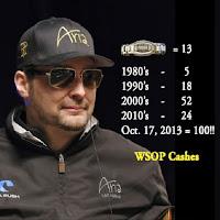 Phil Hellmuth WSOP record