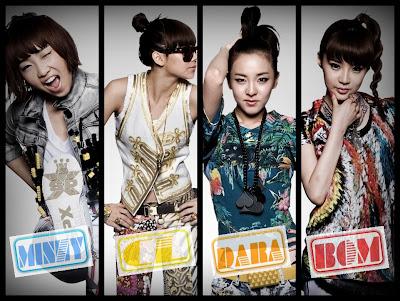 2NE1 -Poster dos Membros