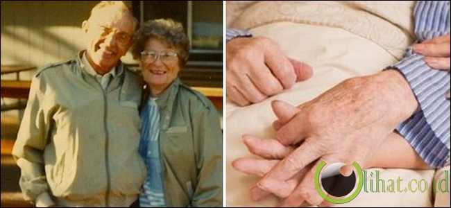 Pasangan Yang Meninggal Bergandengan Tangan