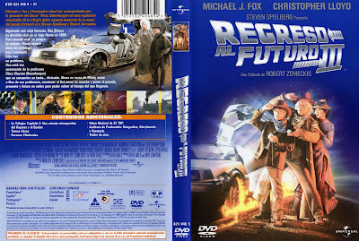 Cover, caratula, dvd:  Regreso al Futuro 3 | 1990 | Back to the Future. Part III