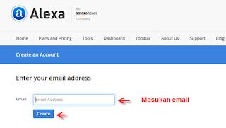 mendaftarkan blog ke alexa.com gratis