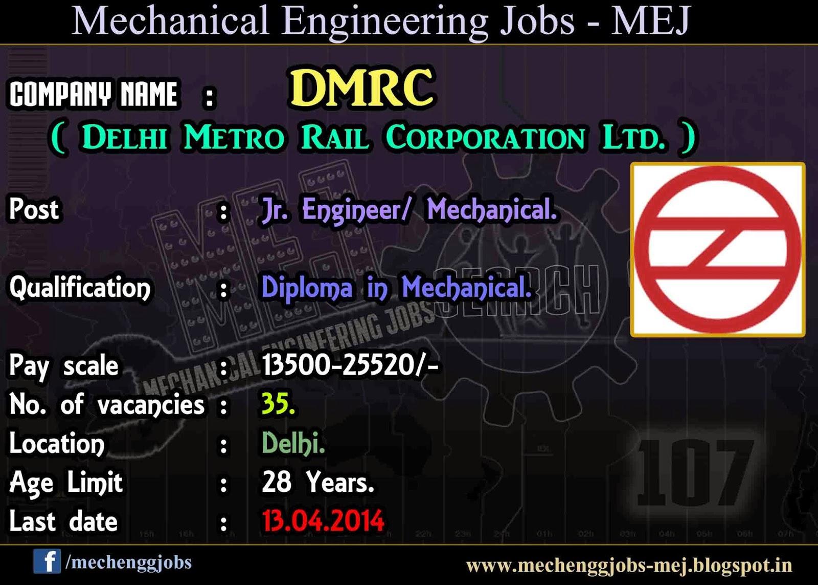 metro jobs in delhi